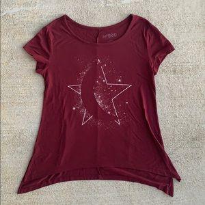 Maroon Astrology T-shirt